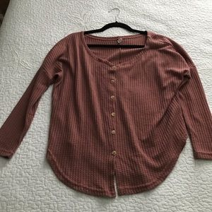 Tops - Button down thermal